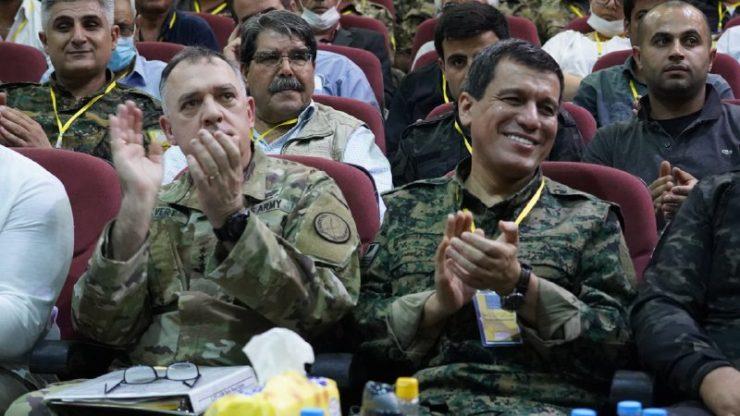 الاجتماع السنوي للمجالس العسكرية لقوات سوريا الديمقراطية